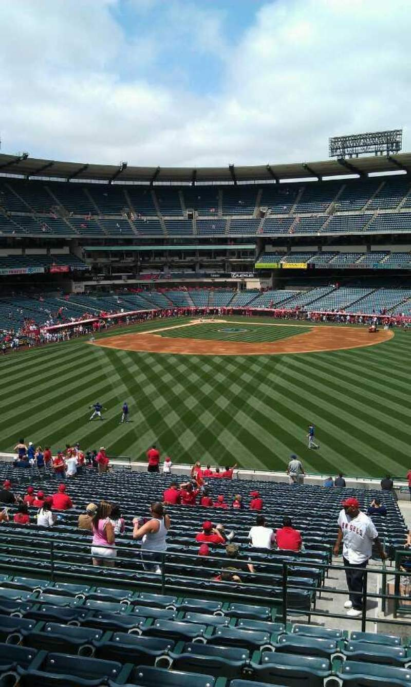 Seating view for Angel Stadium Section P247 Row j Seat 23