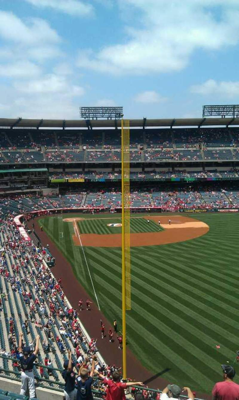Seating view for Angel Stadium Section V435 Row j  Seat 16