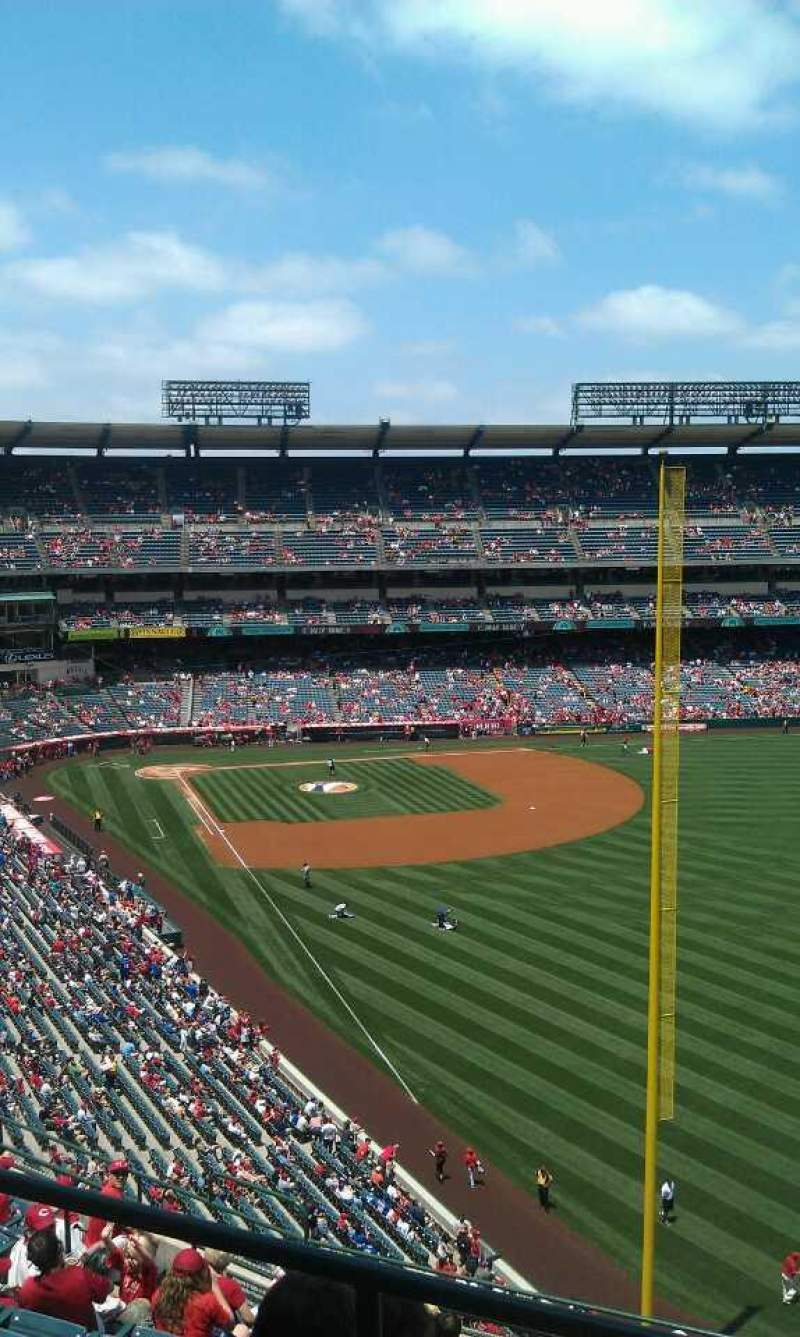 Seating view for Angel Stadium Section V537 Row a  Seat 19