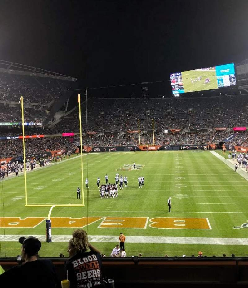 Seating view for Soldier Field Section 221 Row 6 Seat 8