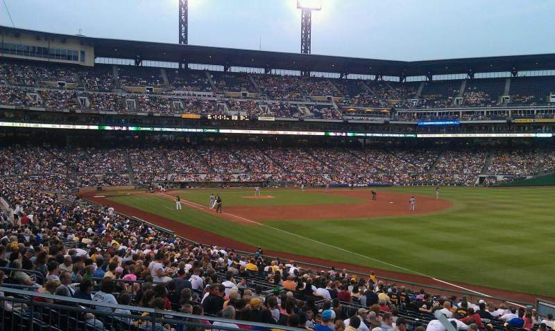 Seating view for PNC Park Section 147 Row A Seat 15