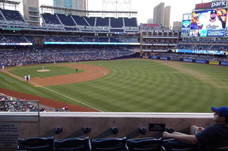 Seating view for PETCO Park Section 221 Row 4 Seat 3, 4
