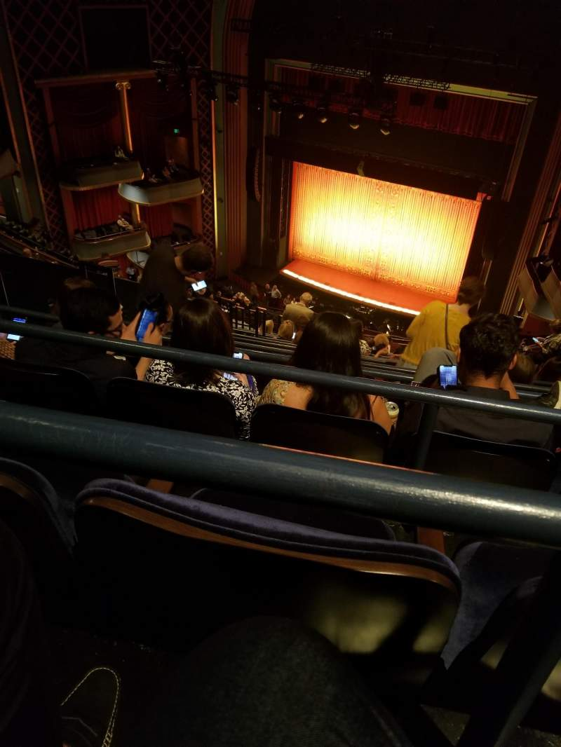 Seating view for Sarofim Hall Section RIGHT GALLERY Row N Seat 9