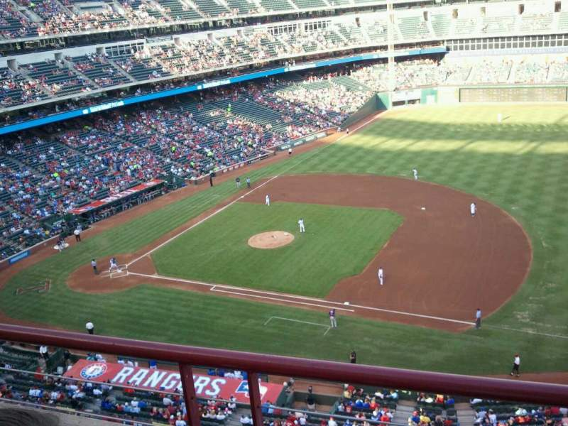 Seating view for Globe Life Park in Arlington Section 335 Row 2 Seat 11