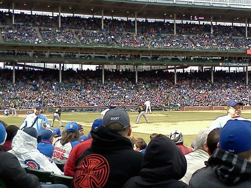 Seating view for Wrigley Field Section 35 Row 6 Seat 6