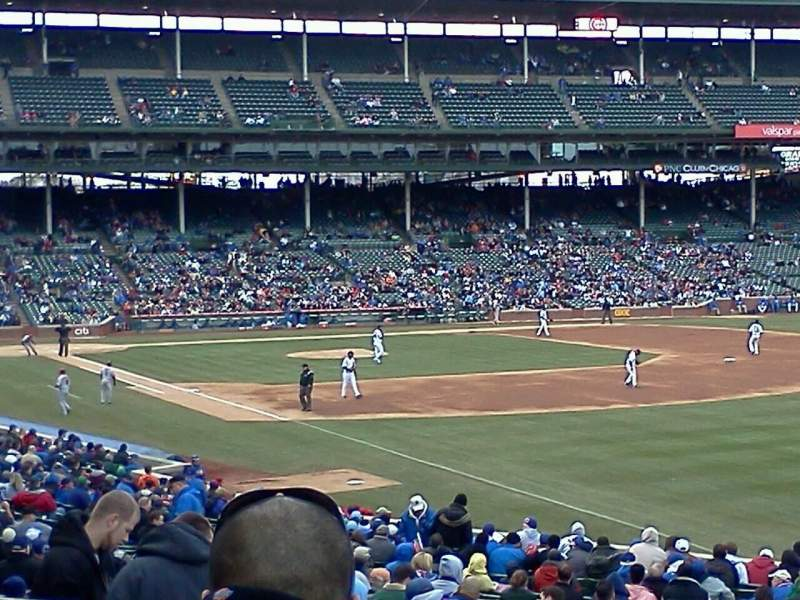 Seating view for Wrigley Field Section 240 Row 6 Seat 105