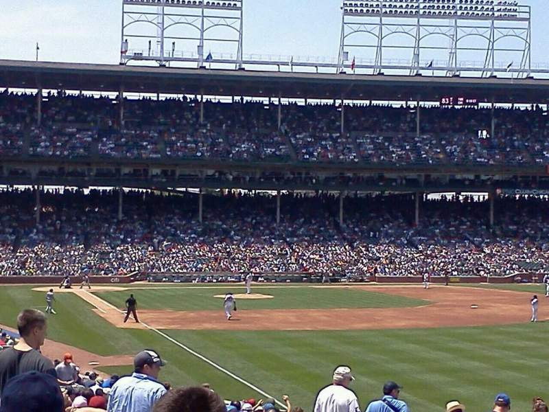 Seating view for Wrigley Field Section 242 Row 3 Seat 111