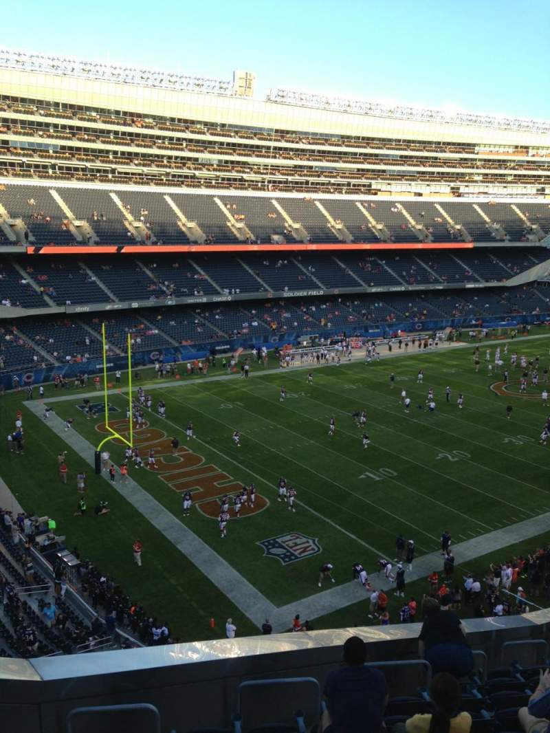 Seating view for Soldier Field Section 344 Row 13 Seat 4