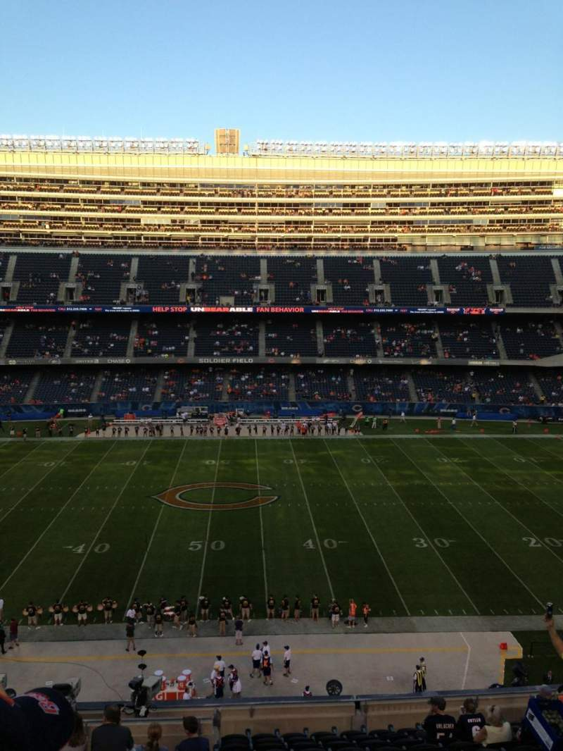 Seating view for Soldier Field Section 336 Row 13 Seat 3