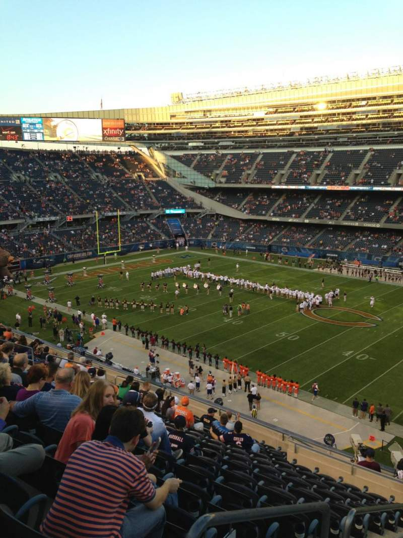 Seating view for Soldier Field Section 333 Row 15 Seat 3