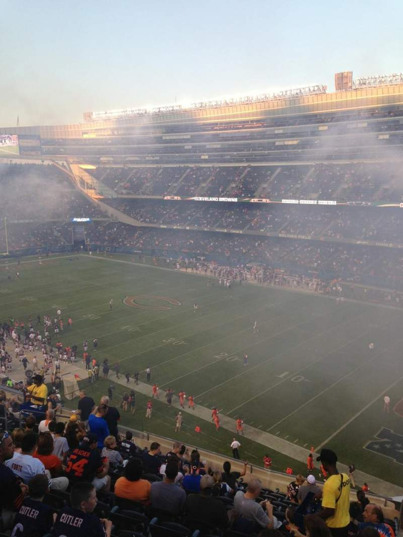 Seating view for Soldier Field Section 333 Row 15 Seat 15
