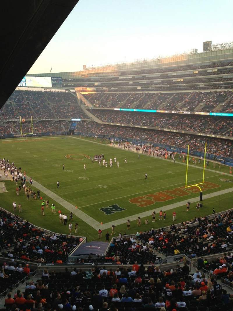 Seating view for Soldier Field Section 326 Row 3 Seat 3