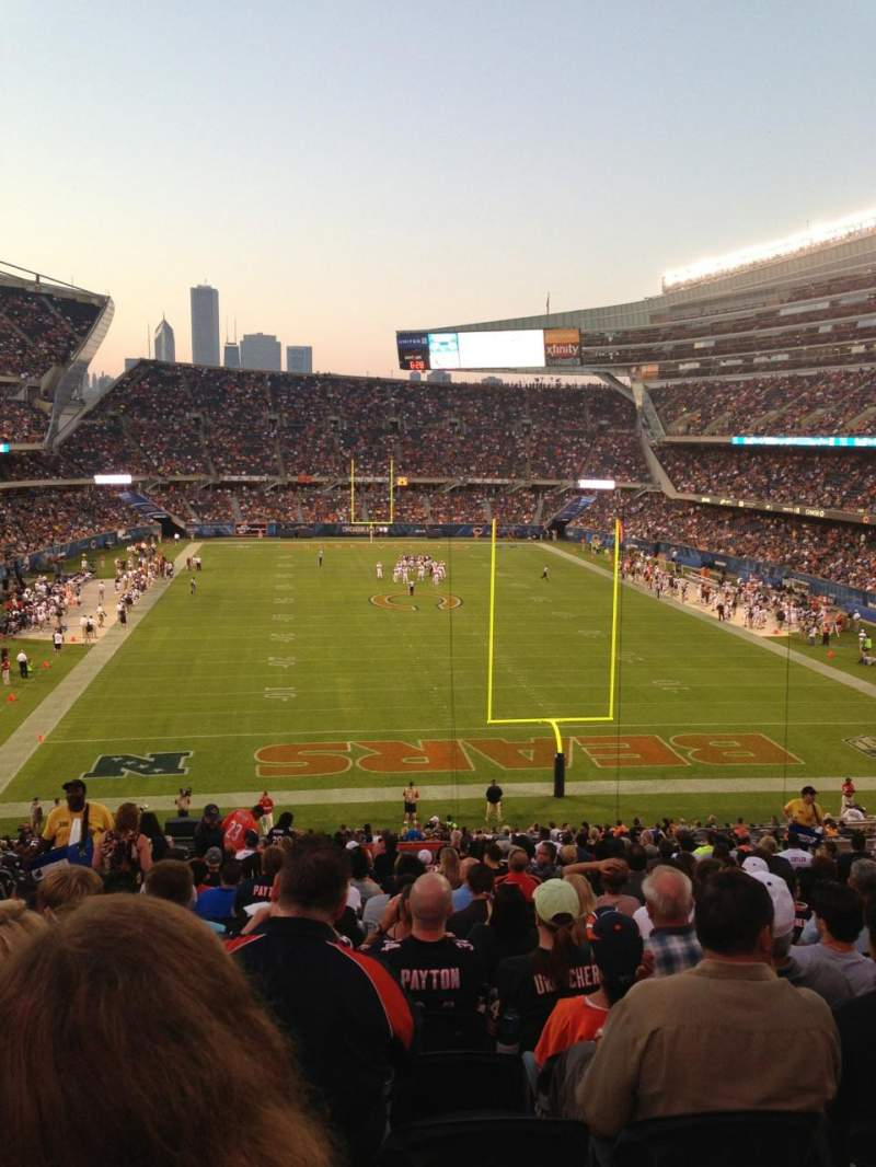 Seating view for Soldier Field Section 223 Row 22 Seat 4