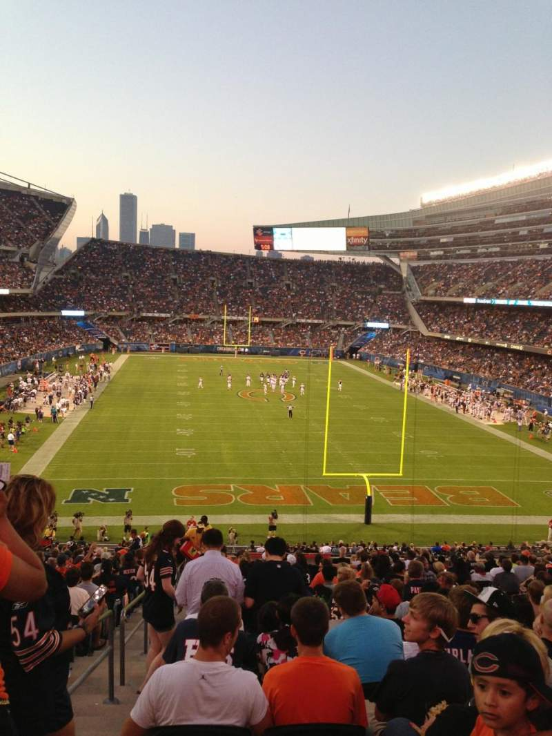 Seating view for Soldier Field Section 223 Row 21 Seat 1
