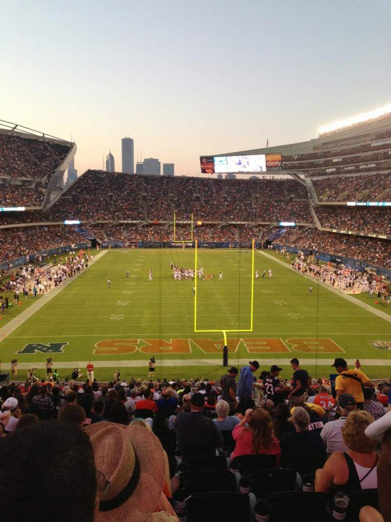 Seating view for Soldier Field Section 223 Row 22 Seat 15