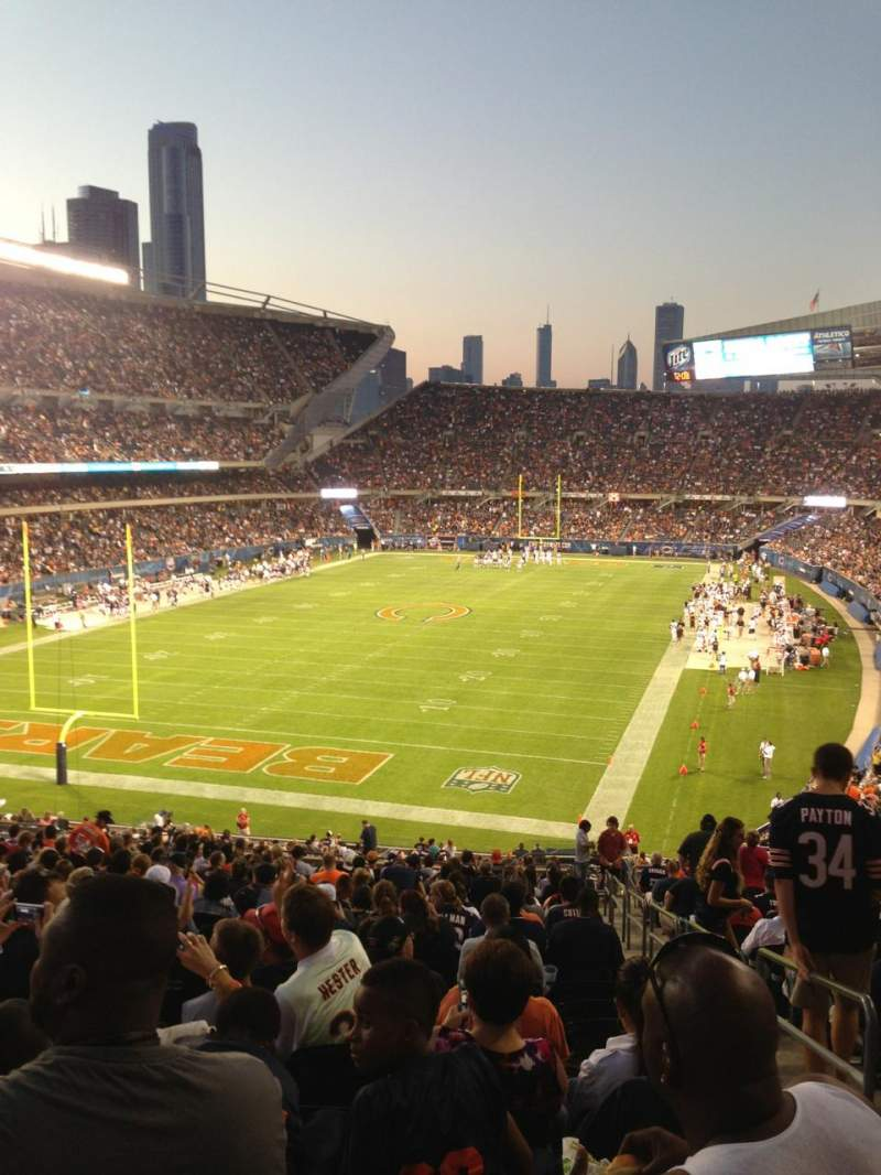 Seating view for Soldier Field Section 220 Row 21 Seat 18