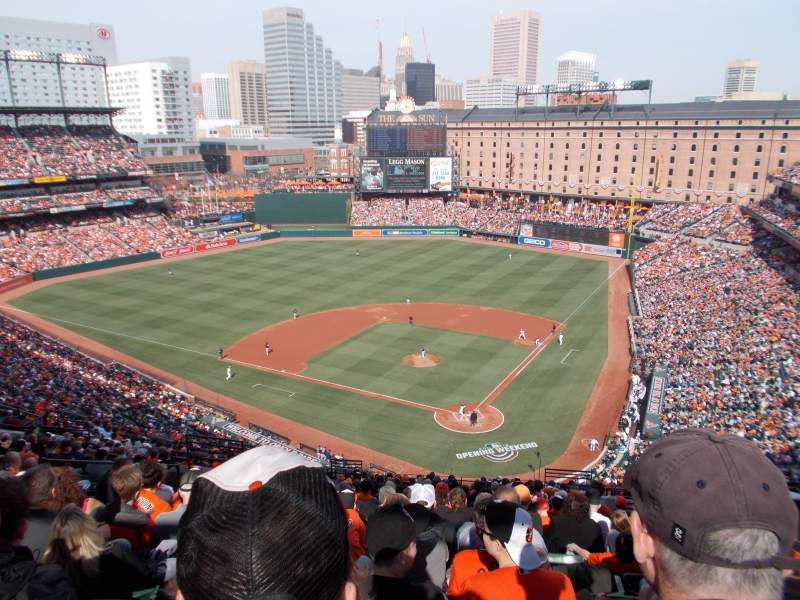 Seating view for Oriole Park at Camden Yards Section 342 Row 24 Seat 10