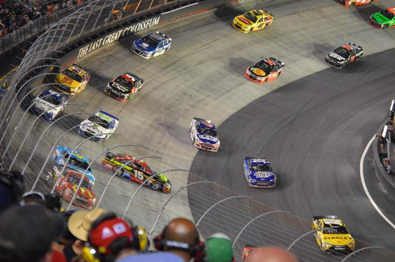 Seating view for Bristol Motor Speedway Section Waltrip Section B Row 44 Seat 13