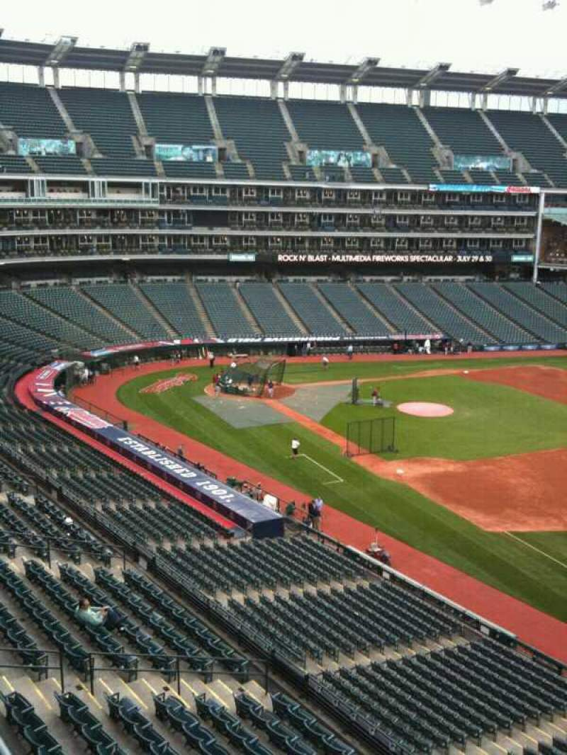 Seating view for Progressive Field Section Suite 312 Row A Seat 1