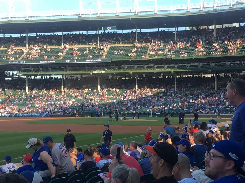 Seating view for Wrigley Field Section 5 Row 14 Seat 12