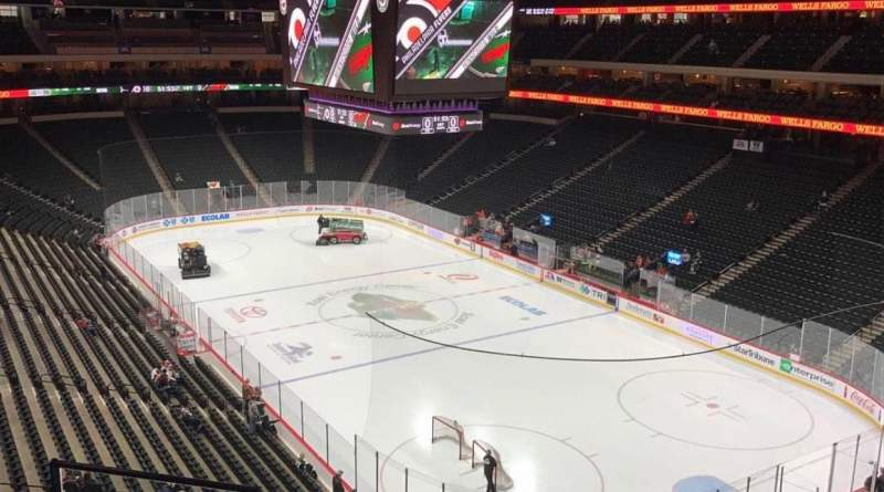 Seating view for Xcel Energy Center Section C39 Row 5 Seat 11