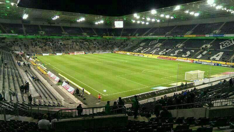 Seating view for Borussia Park Section 2 Row 32 Seat 30