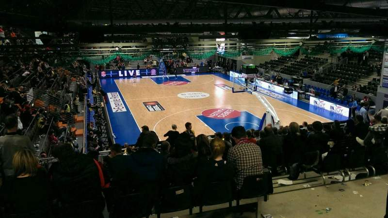 Seating view for Enervie Arena Section E