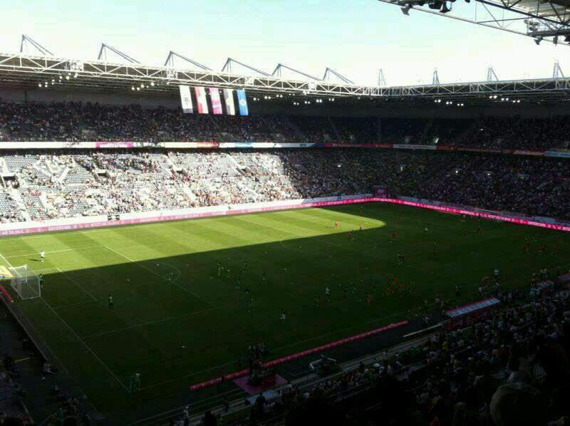 Seating view for Borussia Park Section 19A Row 9 Seat 26