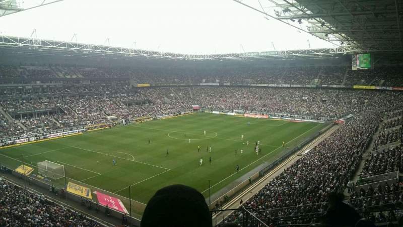 Seating view for Borussia Park Section 6A Row 10 Seat 4