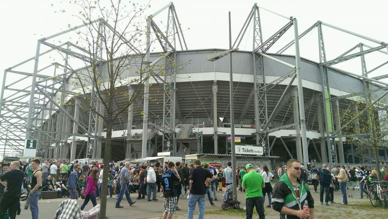 Seating view for Borussia Park Section Outside