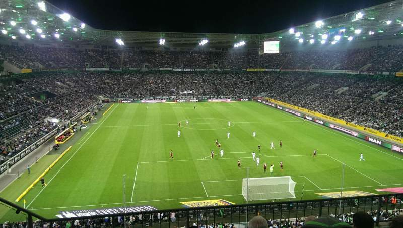 Seating view for Borussia Park Section 3A Row 4 Seat 10