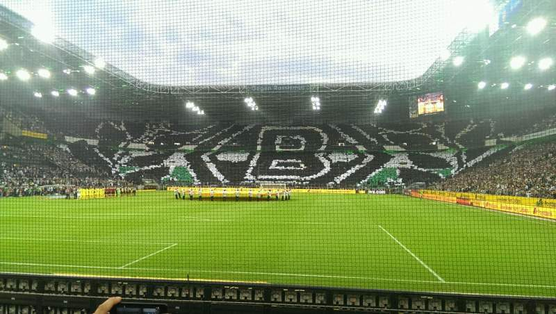 Seating view for Borussia Park Section 5 Row 5 Seat 31