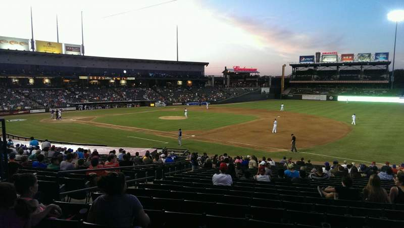 Seating view for Dell Diamond Section 125 Row 24 Seat 11