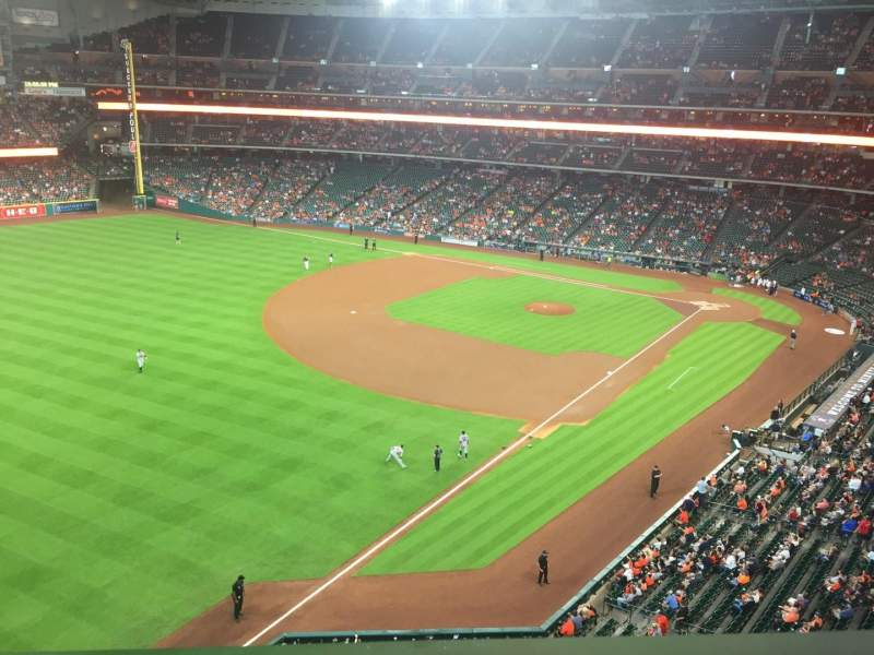 Seating view for Minute Maid Park Section 305 Row 1 Seat 13