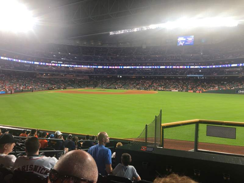 Seating view for Minute Maid Park Section 155 Row 12 Seat 6