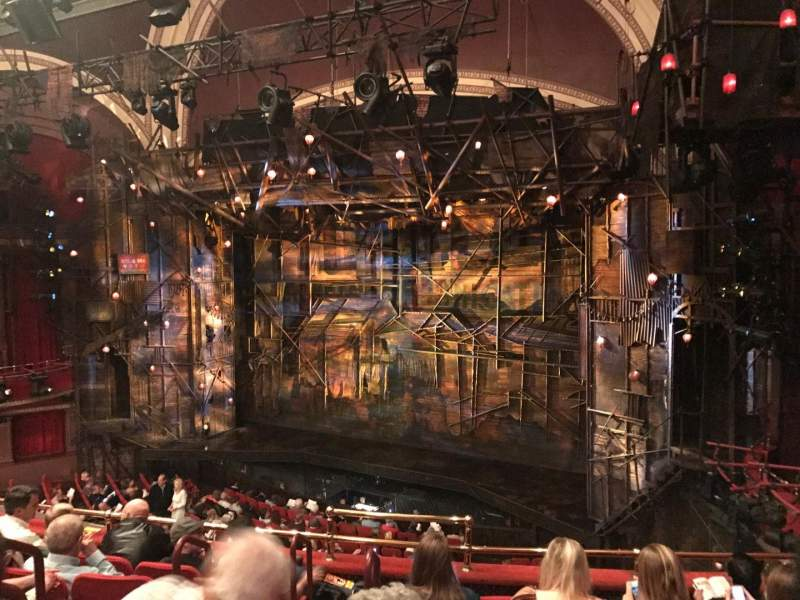 Seating view for Broadway Theatre - 53rd Street Section Front Mezz Row F Seat 7