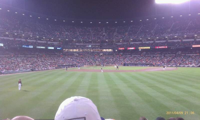 Seating view for Oriole Park at Camden Yards Section 94 Row 8 Seat 22