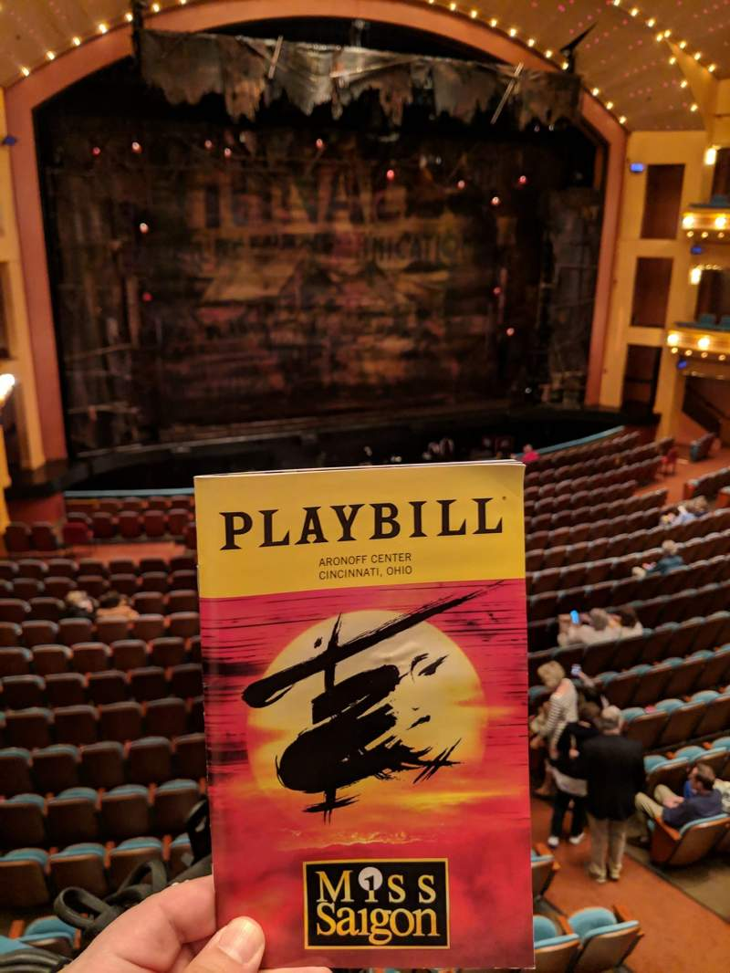 Seating view for Procter And Gamble Hall at the Aronoff Center Section Loge Row A Seat 113