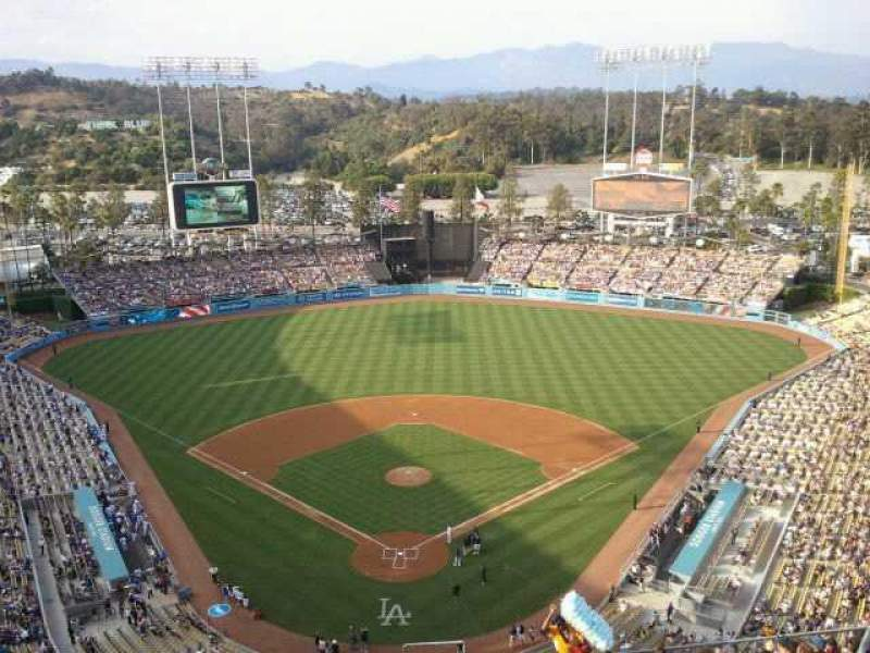 Seating view for Dodger Stadium Section 1RS
