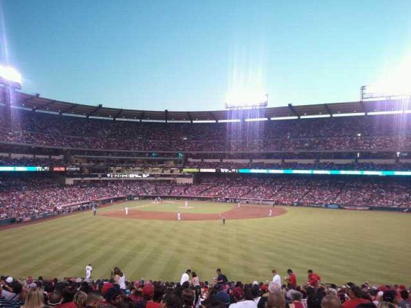 Seating view for Angel Stadium Section P245