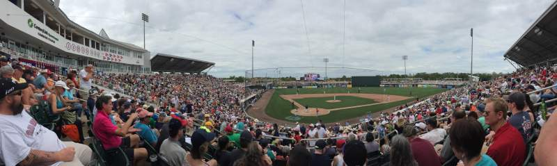 Hammond Stadium, section: 207, row: 7, seat: 7