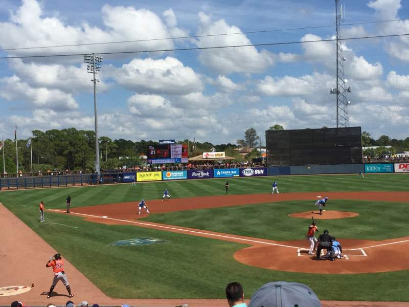 Charlotte Sports Park Interactive Baseball Seating Chart