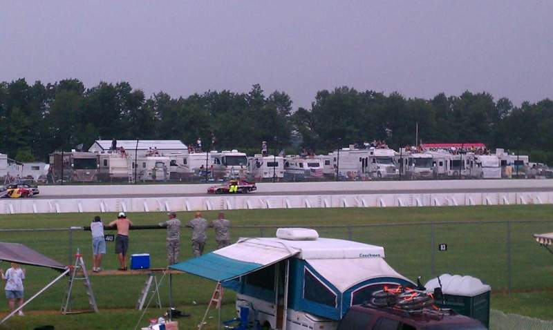 Seating view for Pocono Raceway Section Infield