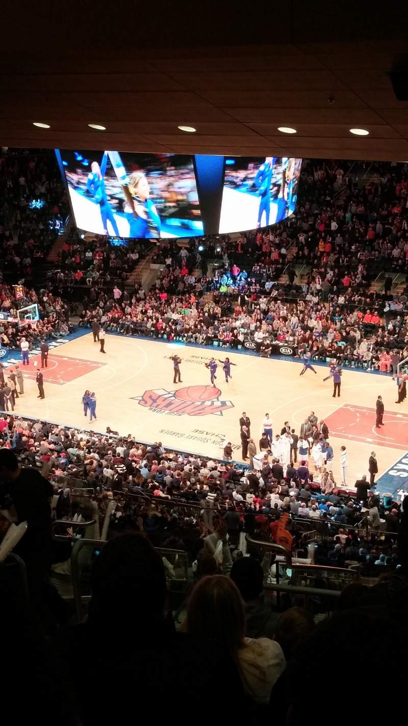 Seating view for Madison Square Garden Section 214 Row 18 Seat 12