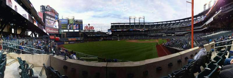 Seating view for Citi Field Section 132 Row 26 Seat 7