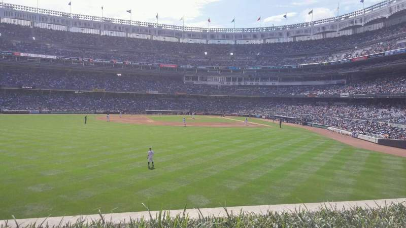 Seating view for Yankee Stadium Section 236 Row 2 Seat 8