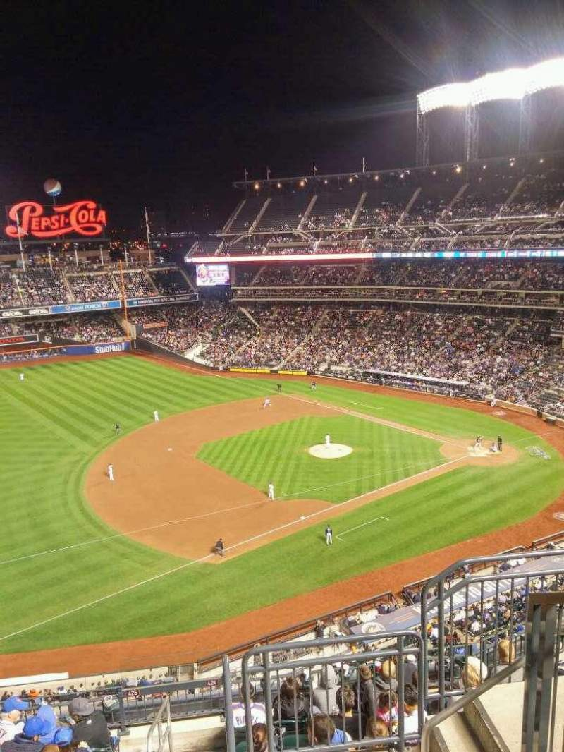 Seating view for Citi Field Section 524 Row 1 Seat 11