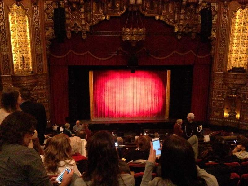 Seating view for The Fabulous Fox Theatre (St. Louis) Section Balcony 3 (BA03) Row F Seat 111