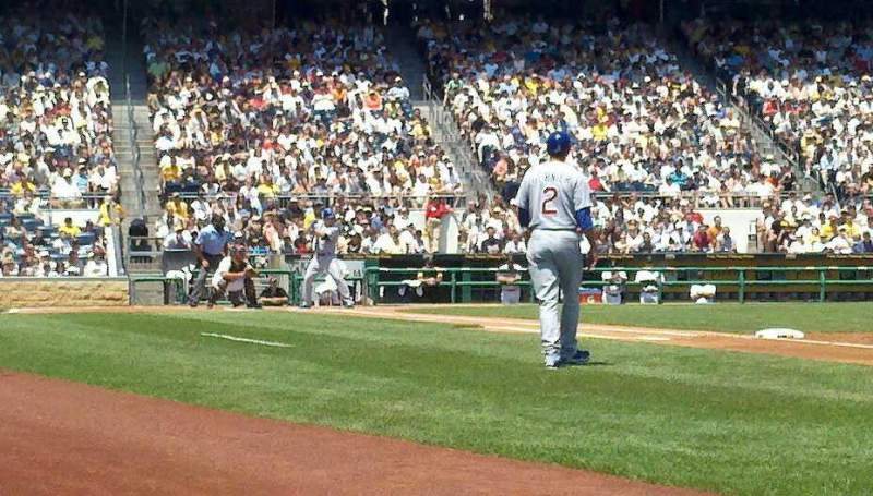 Seating view for PNC Park Section 5 Row A Seat 4