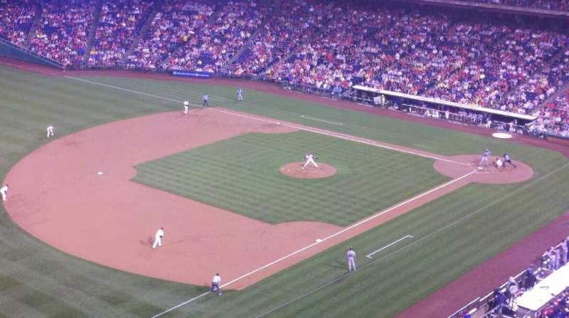 Seating view for Citizens Bank Park Section 431 Row 1 Seat 24